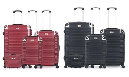 Set di 4 valigie Giulia-C, disponibili in vari colori