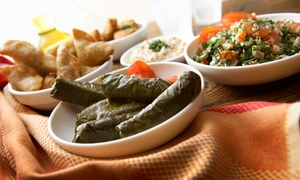 Athens Cafe: $16 for Two Groupons, Each Good for $15 worth of Mediterranean Food at Athens Cafe ($30 Total Value)