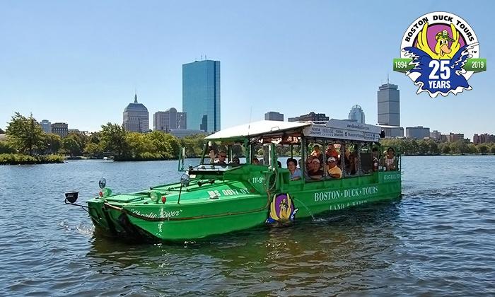 Boston Duck Tours In Boston Ma Groupon