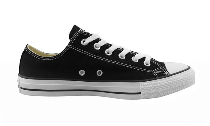 Black or White Converse All Star Low Tops | Groupon Goods