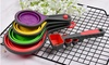 Eight-Piece Set of Measuring Spoons and Cups