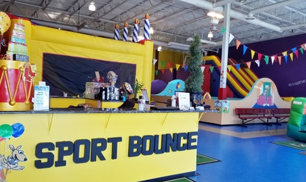 Two or Five Open Bounce Passes at Sport Bounce of Loudoun (Up to 50% Off)