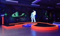 Glow in the Dark Mini Golf for Up to 20 People or Three-Month Mini Golf Pass for One at Tee & Putt (Up to 53% Off)