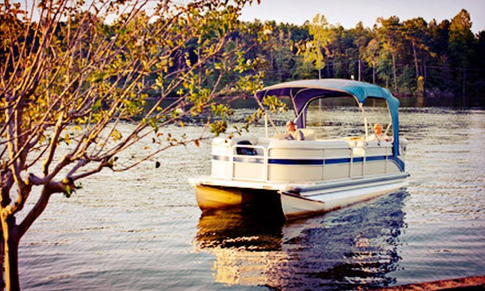 Let's Catch Fish  - Irondequoit: $79 for a Two-Hour Sunset Pontoon Rental for Up to Eight from Let's Catch Fish ($159 Value)