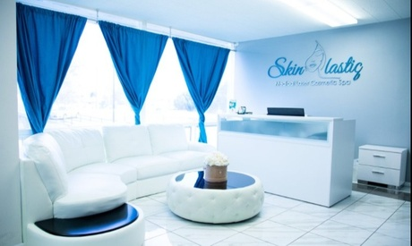 Six Laser Hair-Removal Sessions on X-Small, Small, Medium, Large, or X-Large Area at Skinlastiq (Up to 67% Off)