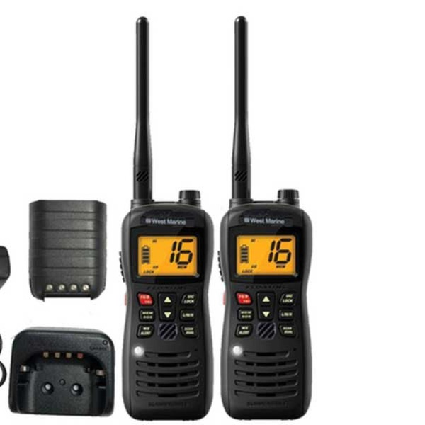 West Marine Handheld VHF Waterproof Radio (Refurbished)
