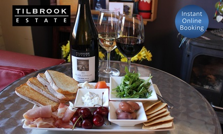 $29 Wine Tasting & Meal Package or $59 Winery Tour Package + Bonus Wine Voucher at Tilbrook Estate Up to $132 Value