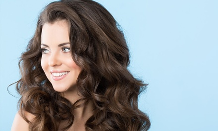 Trim, Shampoo & Blow-Dry ($38) + Root Colour ($59) or Foils ($79) at Image Hair & Skin Clinic (Up to $175 Value)
