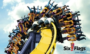 Six Flags Over Texas: Single-Day Admission to Six Flags Over Texas (38% Off)