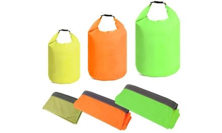 Borsa impermeabile con chiusura ermetica disponibile in 3 colori e capacità