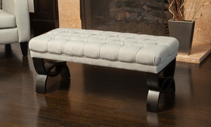 Colette Tufted Ottoman. Multiple Colors Available.