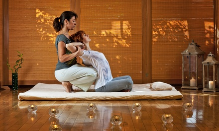 1 Hour Thai or Aroma Oil Massage $39, or $59 to Add 30Min Foot Massage at Water Lily Thai Massage Up to $118 Value