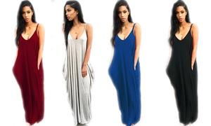 Robe longue femme Nina