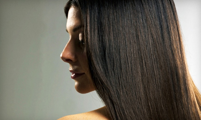 Amber's Beauty & Threading - Amber's Beauty: One, Two, or Three Keratin Straightening Treatments at Amber's Beauty & Threading (Up to 68% Off)