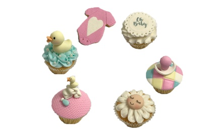 Cupcake & Cookie Decorating Class $69 or 2 $135 at Cake