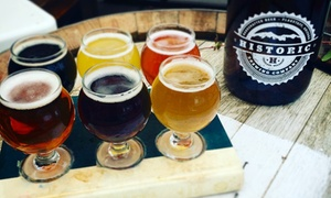 Historic Brewing Company: Beer Flights for Two or Four at Historic Brewing Company (44% Off)