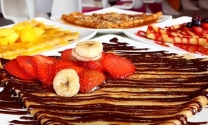 Iceit Yogurt & Sweets-WEST: Three or Five Groupons, Each Good for One Crepe and One Coffee at Iceit Yogurt & Sweets (Up to 49% Off)