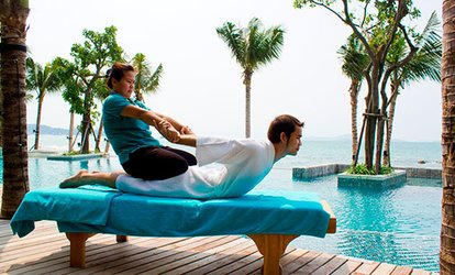 image for Solo or Couple's <strong><strong>Thai</strong> <strong>Massage</strong></strong> with a Foot Scrub and Aromatherapy at Tik <strong>Thai</strong> Spa and <strong>Massage</strong> (Up to 50% Off)
