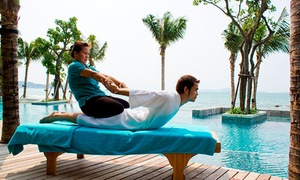 Tik Thai Spa and Massage: Solo or Couple's Thai Massage with a Foot Scrub and Aromatherapy at Tik Thai Spa and Massage (Up to 61% Off)