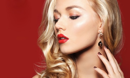 Manicure or Pedicure, Plus Make-Up for €22 at World of Elegance Hair and Beauty (56% Off)