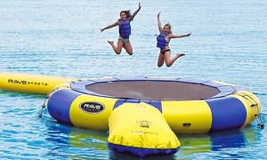 BEE Inflatable Water Park: Jump Sessions for 2–12 People at BEE Inflatable Waterpark (Up to 54% Off)
