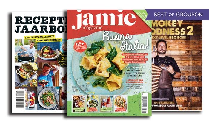 magazine jamie oliver livre de cuisine jamie magazine groupon. Black Bedroom Furniture Sets. Home Design Ideas