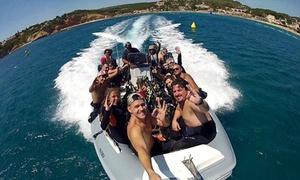 Aqua Evasion: Bateau privatisé avec un pilote pour groupe ou individuel, famille VIP sur 3h ou 7h à 199 €au centre Aqua Evasion