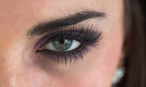 Blodry Bar & Nail Bar: One Full Set of Eyelash Extensions with Option for One Touch-Up Visit or Eyelash Refill at Blodry Bar & Nail Bar (Up to 49% Off)