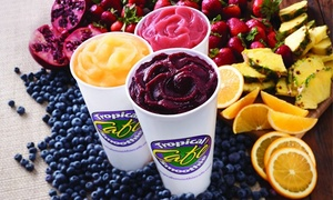 Tropical Smoothie Cafe: Three Groupons, Each for $10 Worth of Smoothies, at Tropical Smoothie Cafe (Up to 50% Off)
