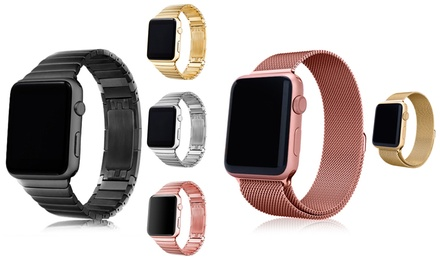 Strainless Steel Straps for Apple Watch
