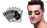 Men's Bamboo, Charcoal, and Collagen Under-Eye Treatment (12-Pack)