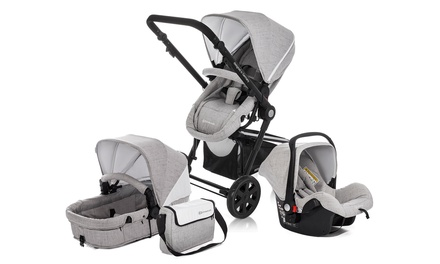 KinderKraft Three-in-One Stroller