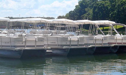 One-Hour Pontoon or Ski-Boat Rental at Bridgewater Marina & Boat Rental (Up to 54% Off)