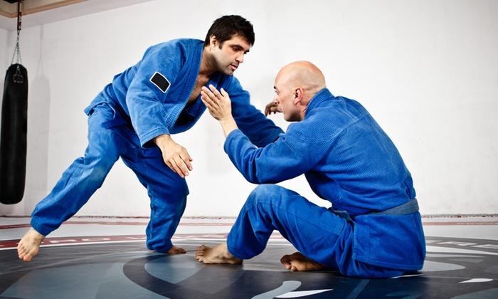 Sampa Brazilian Jiu Jitsu - Sampa Brazilian Jiu Jitsu: Five Weeks of Unlimited Jiujitsu and Thai Boxing with a Uniform at Sampa Brazilian Jiu Jitsu (Up to 63% Off)