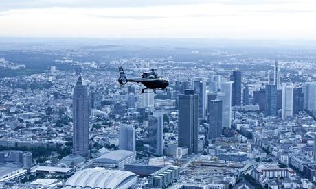 Rundflug über Südhessen, Frankfurter Skyline oder Burgen- und Schlössertour bei Heli Transair European Air Services