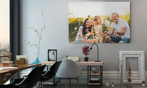 "CanvasOnSale: One 12""x8"" Canvas Print, or One or Two 16""x12"" or 20""x16"" Canvas Prints from CanvasOnSale (Up to 93% Off)"