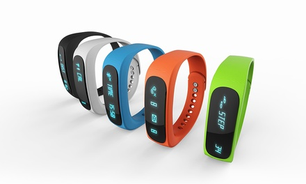 Smart Bluetooth Sports Activity Bracelet in Choice of Colour for £12.98