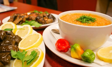 Artisan Turkish Cuisine at Taste of Istanbul Grill (50% Off). Three Options Available.