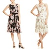 S.L. Fashions Women's Printed Belted Dresses