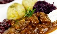 3-Gänge Wildgulasch-Menü mit Aperitif für 2 oder 4 Personen im Parkrestaurant Fellbach (35% sparen*)