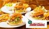 4種から選べるハンバーガー+1ソフトドリンク/他