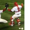 Philadelphia Phillies' Brad Lidge and Carlos Ruiz Autographed Photo