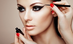 International Makeup Academy: Three-Hour Makeup Masterclass with Prosecco and Gift at International Makeup Academy,12 Locations (Up to 81% Off)