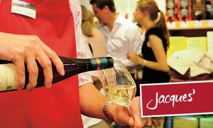 Jacques' Wein-Depot: Wertgutschein über 20 € anrechenbar auf das gesamte Weinsortiment in allen Depots von Jacques' Wein-Depot