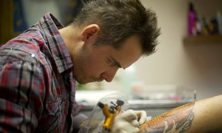 60 Minutes of Tattoo Time and 30minute Consultation at 2nd Skin