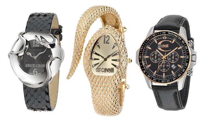 Just Cavalli Watch in Choice of Model from £40.99