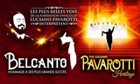 1 place au choix pour Belcanto Hommage à Pavarotti le jeudi 1er décembre 2016 à 20h au Zénith de Montpellier