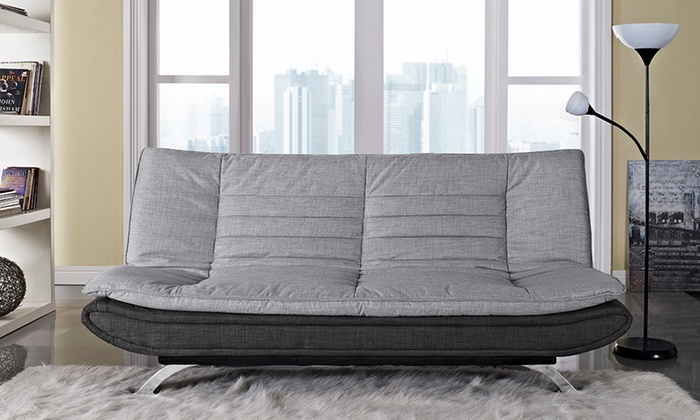 Michigan Fabric Sofa Bed Groupon Goods For