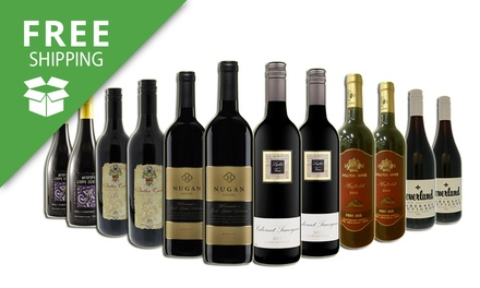 Free Shipping: Premium Mixed Red Wines: Six Bottles $69 or Twelve Bottles $99 Don't Pay up to $249