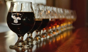 Crystal Springs Brewing Company: Craft Beer for Two or Four or More at Crystal Springs Brewing Company (45% Off)
